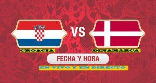 Croacia vs Dinamarca EN VIVO