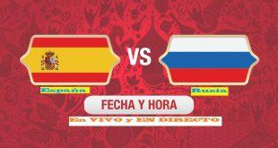 España vs Rusia EN VIVO