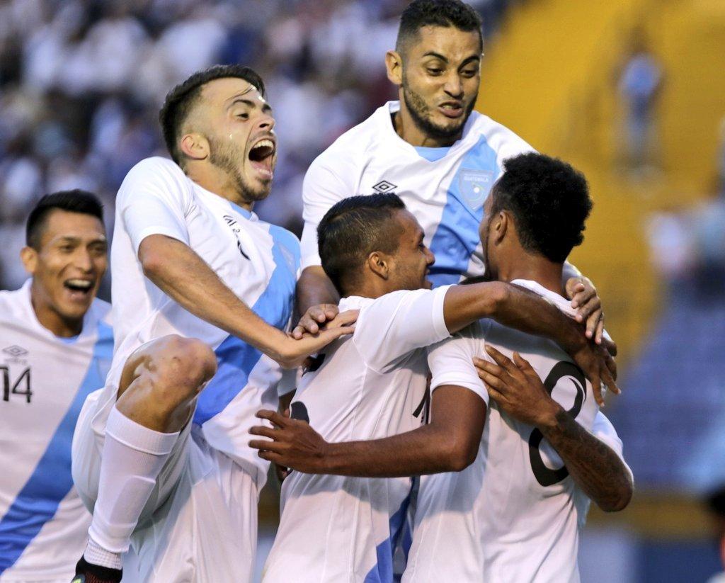 Selección de Guatemala vs Selección de Cuba
