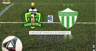 Guastatoya vs Antigua EN VIVO