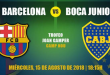 FC Barcelona vs Boca Juniors EN VIVO