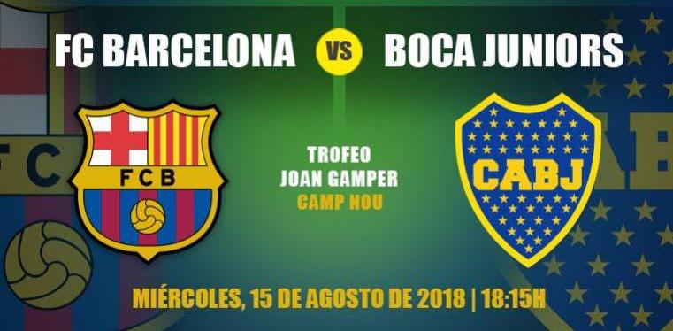 FC Barcelona vs Boca Juniors EN VIVO