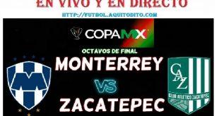 Monterrey vs Zacatepec EN VIVO EN DIRECTO ONLINE