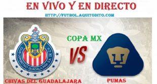 Chivas del Guadalajara vs Pumas EN VIVO EN DIRECTO