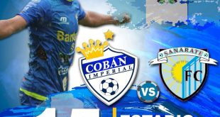 Cobán Imperial vs Sanarate FC EN VIVO