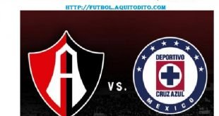 Cruz Azul vs Atlas EN VIVO