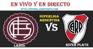 River Plate vs Lanús EN VIVO
