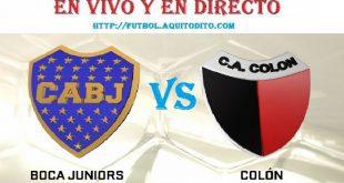 Boca Juniors vs Colón EN VIVO EN DIRECTO