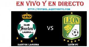 Santos Laguna vs León FC EN VIVO
