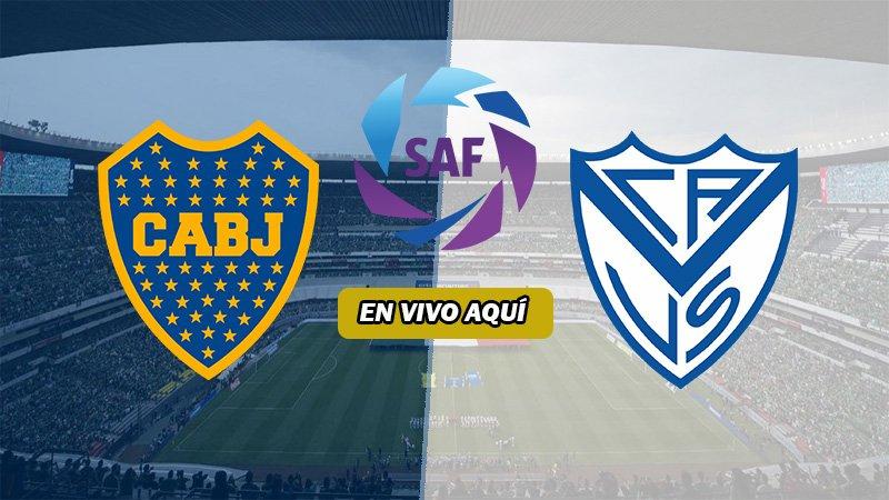 Boca Juniors vs Vélez Sarsfield EN VIVO ONLINE