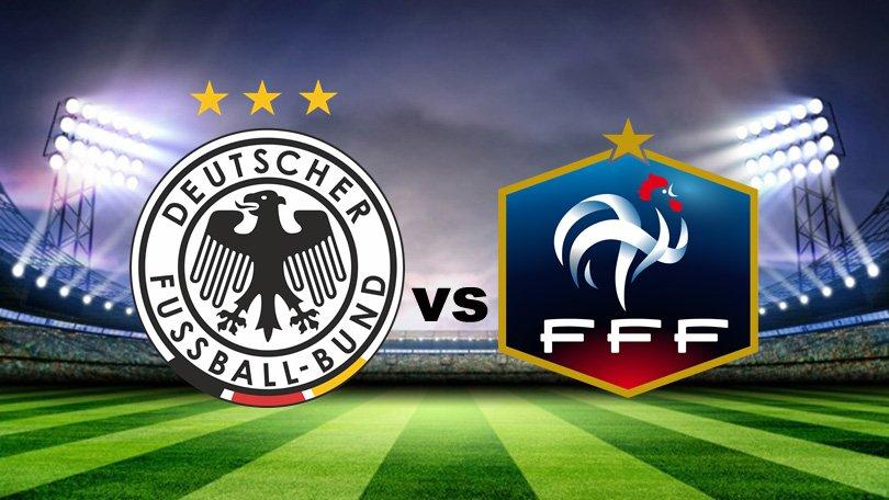 Alemania vs Francia EN VIVO