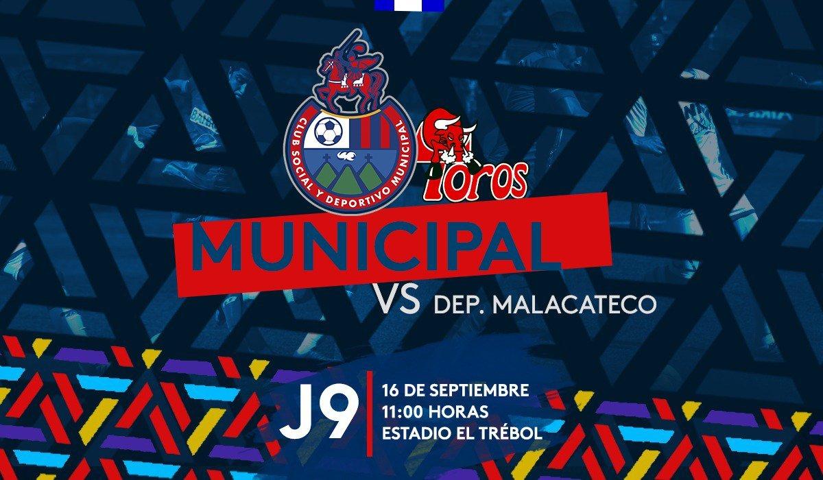 Municipal vs Malacateco EN VIVO