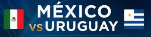 México vs Uruguay EN VIVO