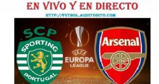 Arsenal vs Sporting Lisboa EN VIVO