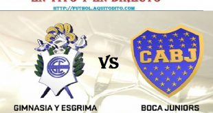 Gimnasia L.P. vs Boca Juniors EN VIVO