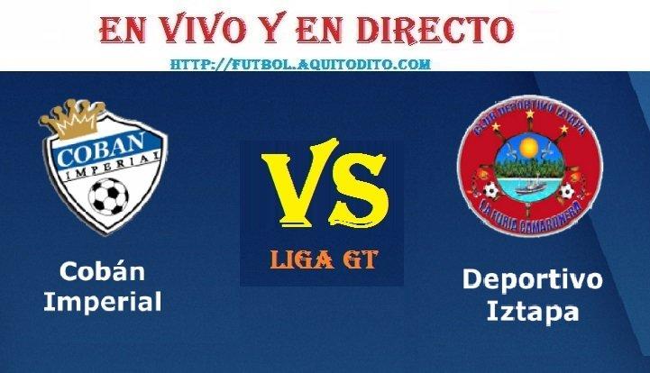 Cobán Imperial vs Deportivo Iztapa EN VIVO