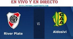 River Plate vs Aldosivi EN VIVO