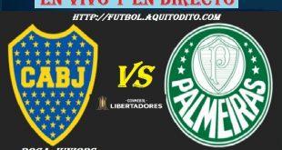Boca Juniors vs Palmeiras EN VIVO