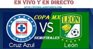 Cruz Azul vs León EN VIVO