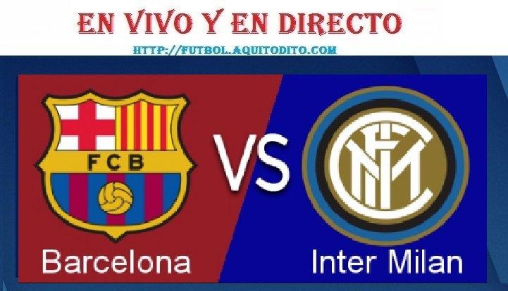 Barcelona vs Inter EN VIVO EN DIRECTO