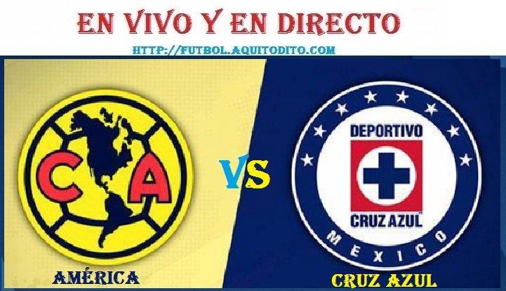 Cruz Azul vs América EN VIVO