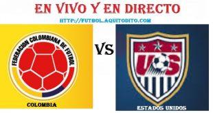 Colombia vs Estados Unidos EN VIVO