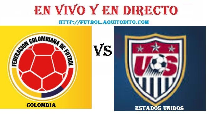 Colombia vs Estados Unidos EN VIVO
