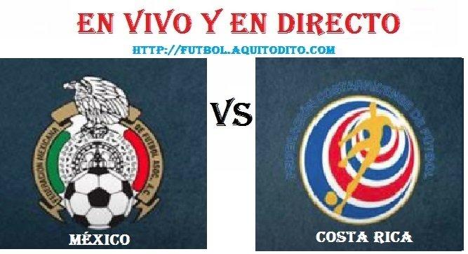México vs Costa Rica EN VIVO
