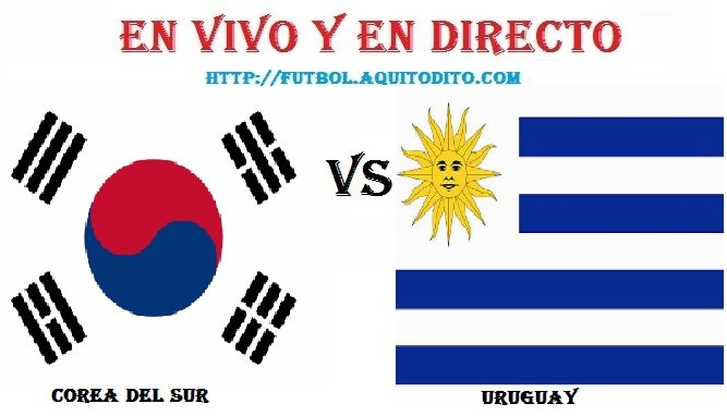 Uruguay vs Corea del Sur EN VIVO
