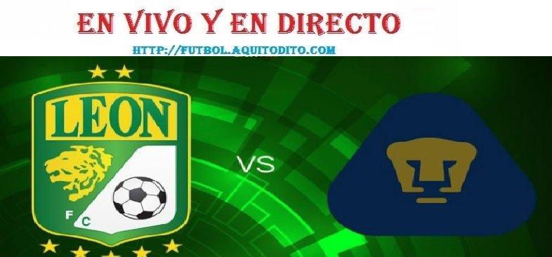 León FC vs Pumas EN VIVO EN DIRECTO ONLINE