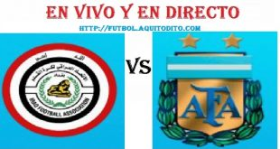 Argentina vs. Irak EN VIVO