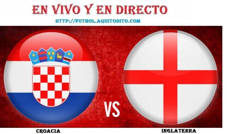 Croacia vs Inglaterra EN VIVO