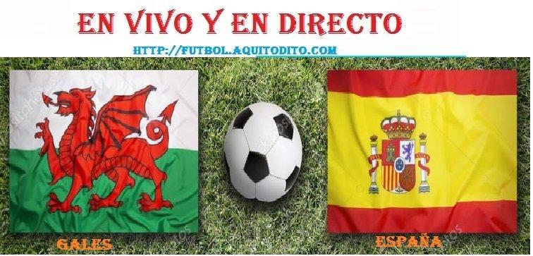 España vs Gales EN VIVO