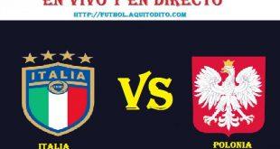 Italia vs Polonia EN VIVO