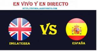 VER España vs Inglaterra EN VIVO