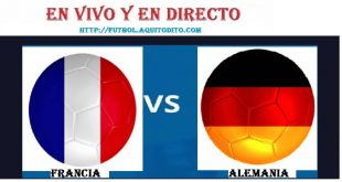 Francia vs Alemania EN VIVO