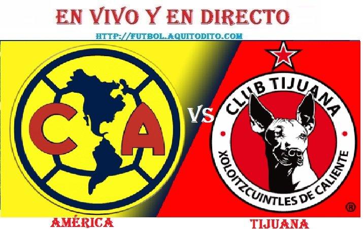 América vs Tijuana EN VIVO