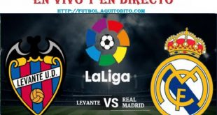 Real Madrid vs. Levante EN VIVO