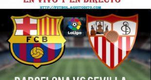 Barcelona vs. Sevilla EN VIVO