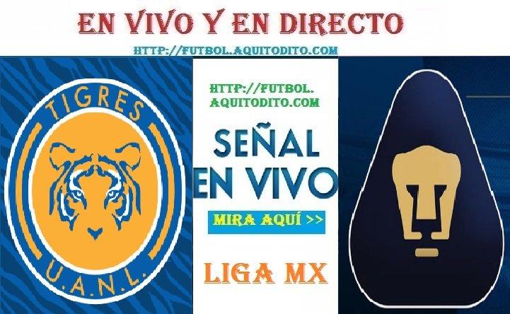 Tigres UANL vs Pumas UNAM EN VIVO