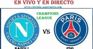 Napoli vs Paris Saint Germain EN VIVO