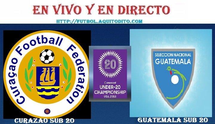 VER Guatemala vs Curazao EN VIVO