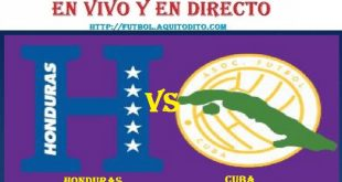 Honduras vs Cuba EN VIVO