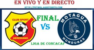 Motagua vs Herediano EN VIVO