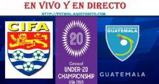 Guatemala vs Islas Caimán EN VIVO