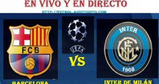 Inter vs Barcelona EN VIVO