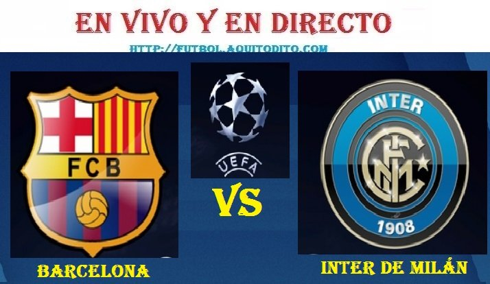 Inter vs Barcelona EN VIVO