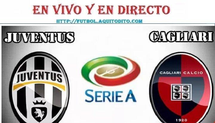 VER Juventus vs Cagliari EN VIVO
