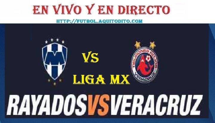 Monterrey vs Veracruz EN VIVO