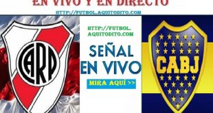 River Plate vs Boca Juniors EN VIVO